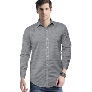 Funkys Long Sleeves Doted Casual Shirt - Deeds.pk