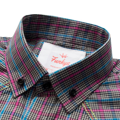 Funkys Boy's Double Pocket Casual Shirt - Deeds.pk