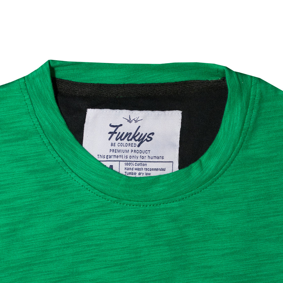Funkys Pakistan Green T-Shirt