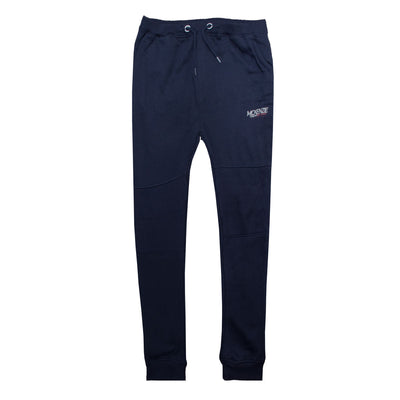 Boys Plain Navy Gripped Bottom Trouser ( 8 YEARS TO 15 YEARS ) - Deeds.pk