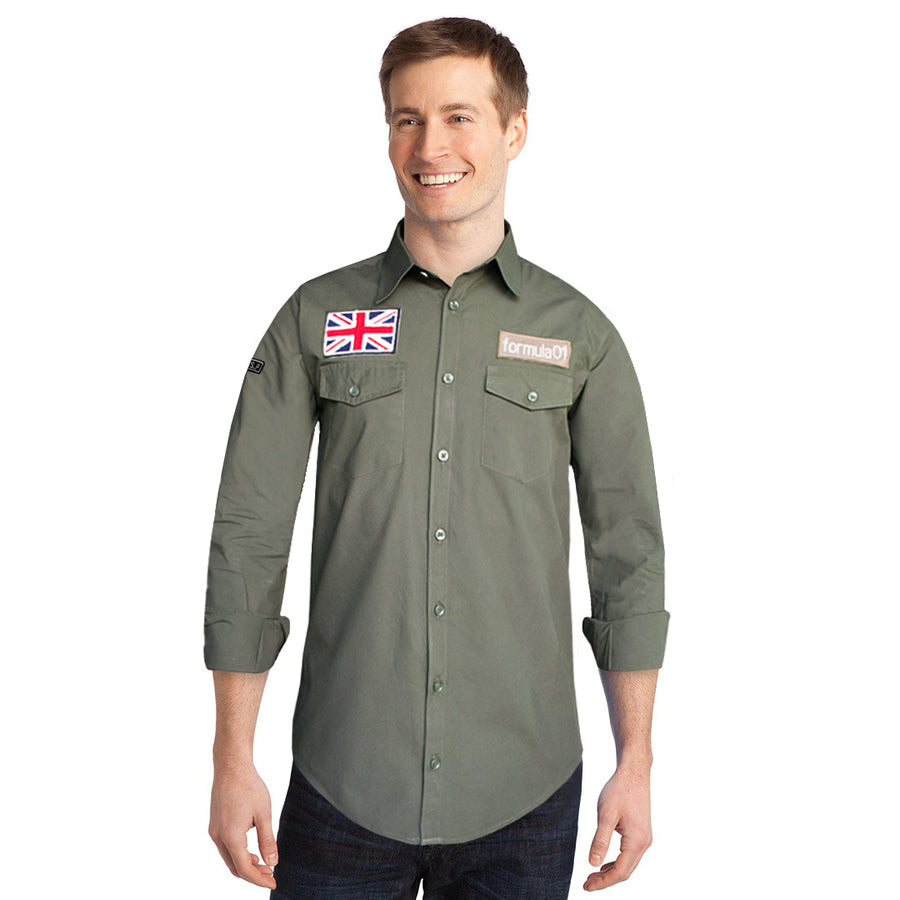 Funkys UK Emblem Casual Shirt
