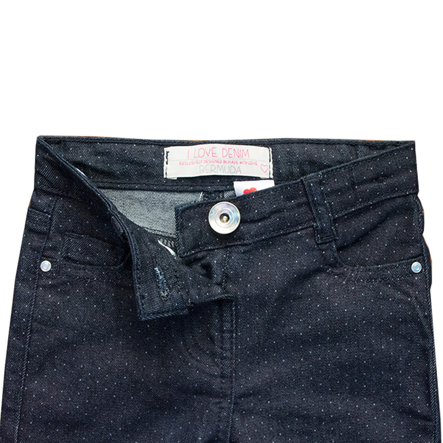 Love Denim Bermuda Dot Kid's Denim ( 1 YEARS TO 7 YEARS )