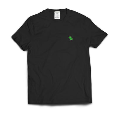Kids Abercrombie Black Plain T-Shirt - Deeds.pk