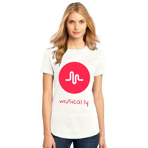Funky's Girls Musical.ly Printed T-Shirt