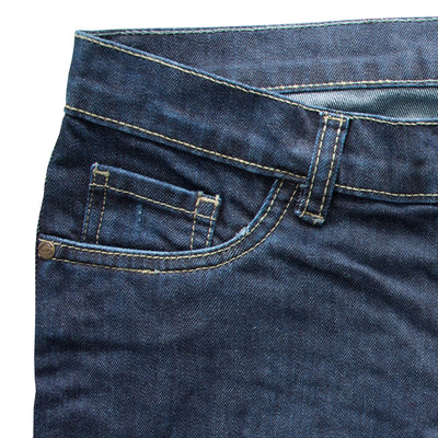Cobalt Blue Slim Fit Denim - Deeds.pk