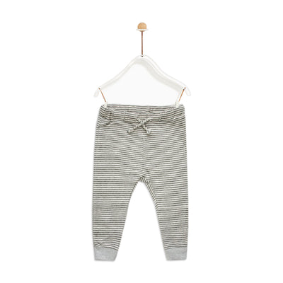 Baby Girl Grey Striped Trousers ( 3 MONTHS TO 3 YEARS )