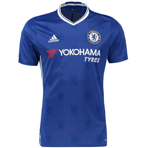 Hazard Home Jersey Blue 16-17