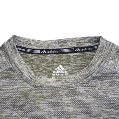 Adidas Climacool Green Textured Full Sleeves Super Stretch - Deeds.pk