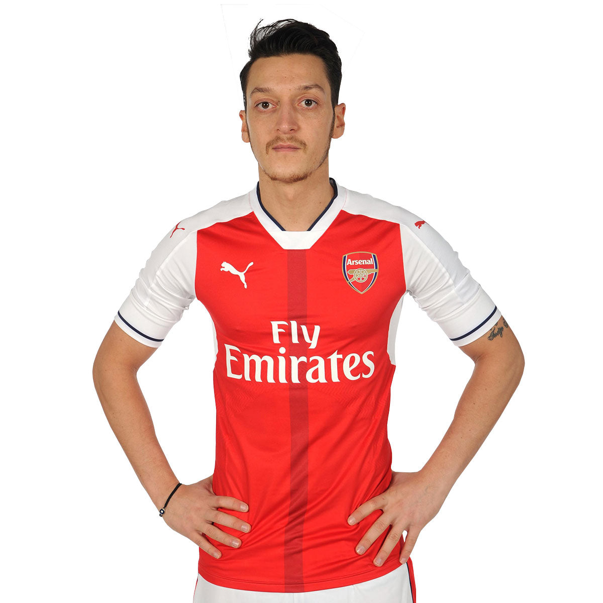 on sale f47d2 a6123 Ozil Arsenal Home Jersey 2016/2017