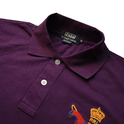 Ralph Lauren Dark Plum Polo Shirt - Deeds.pk