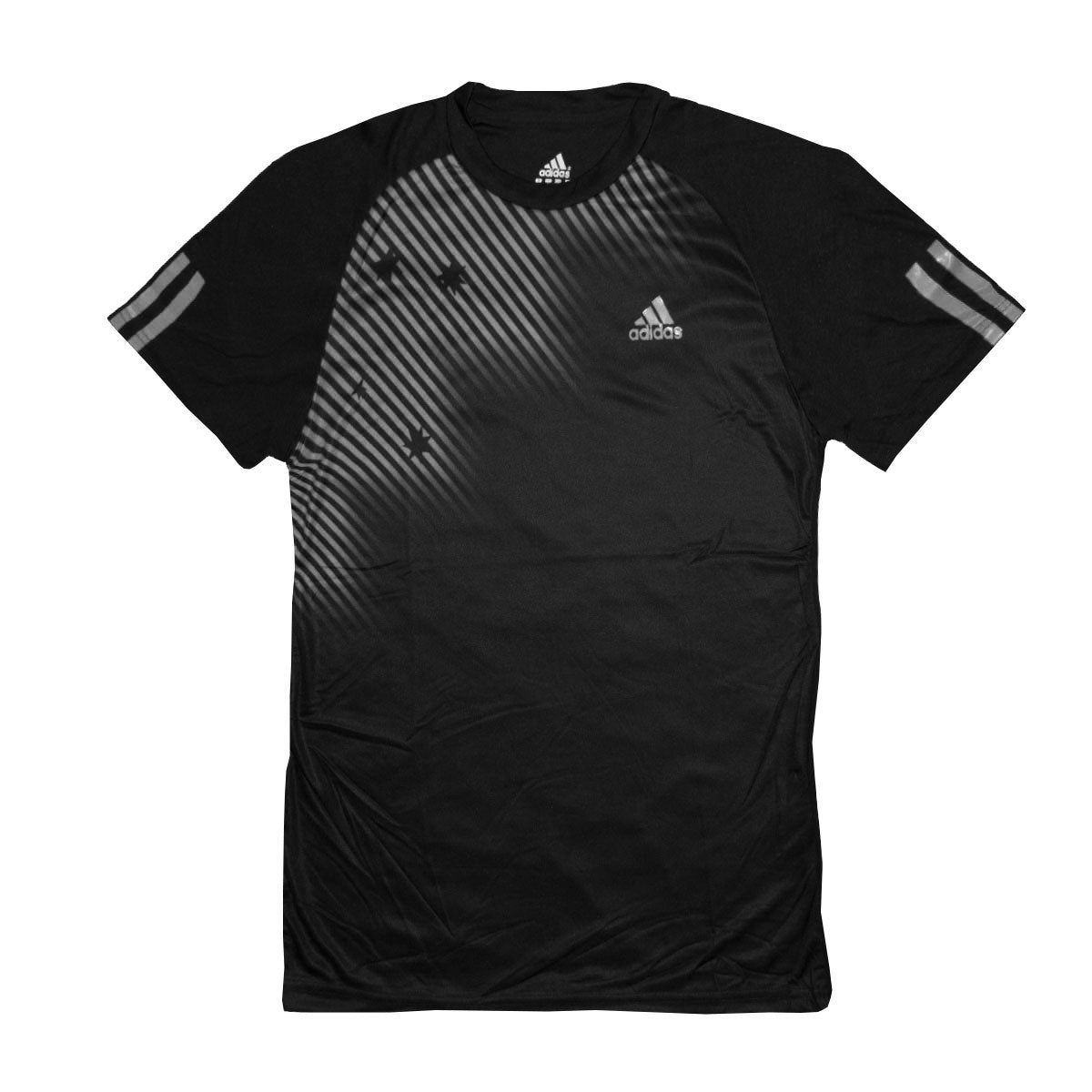Adidas Raven Grey Dry Fit T-Shirt - Deeds.pk