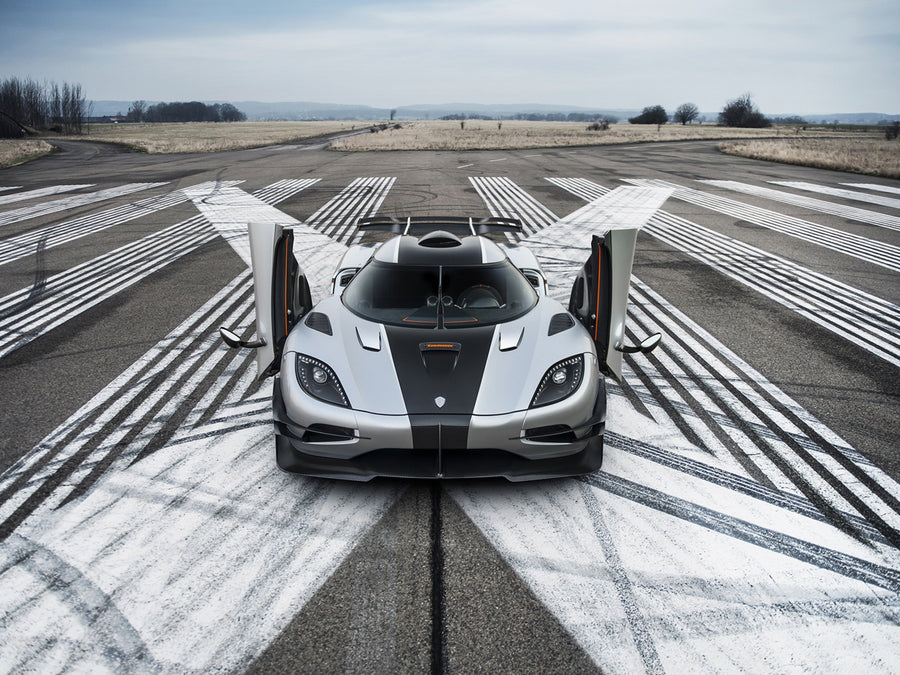 Koenigsegg Agera On Runway