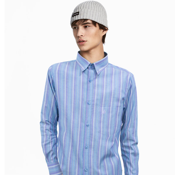 Datch Multi Stripes Long Sleeves Casual Shirt - Deeds.pk