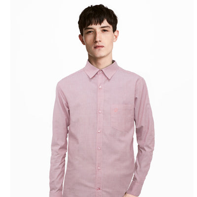 Datch Pink Long Sleeves Casual Shirt - Deeds.pk