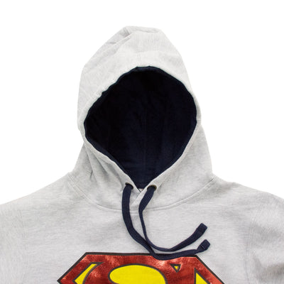 DC Comics Superman Shiny Shield Hoodie - Deeds.pk