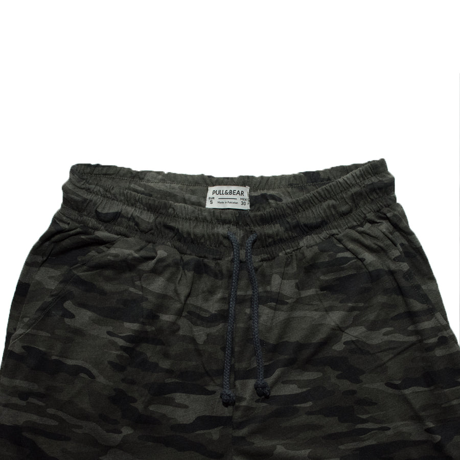 Pull & Bear Camouflage Trousers