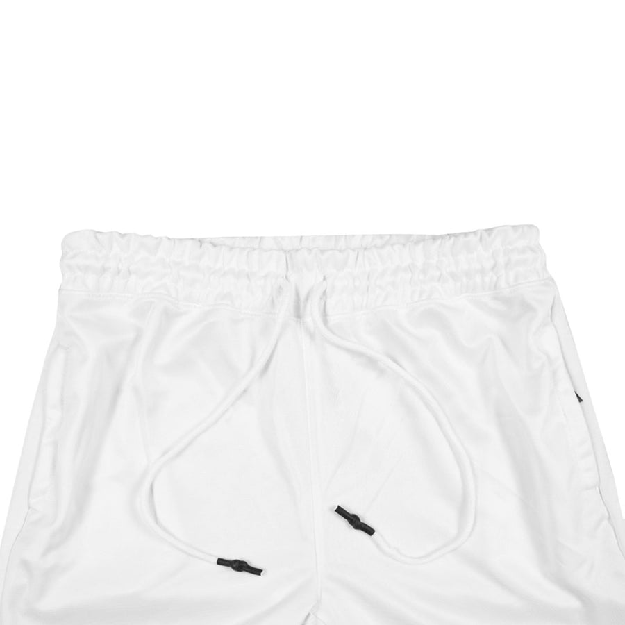 Run Fast Men's White Electric Trouser