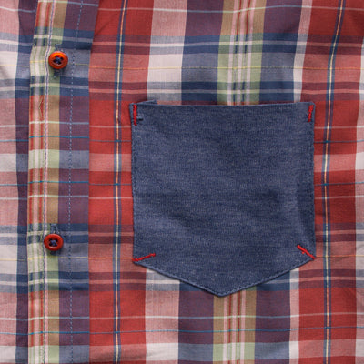 Funkys Boy's Coral Check Casual Shirt - Deeds.pk
