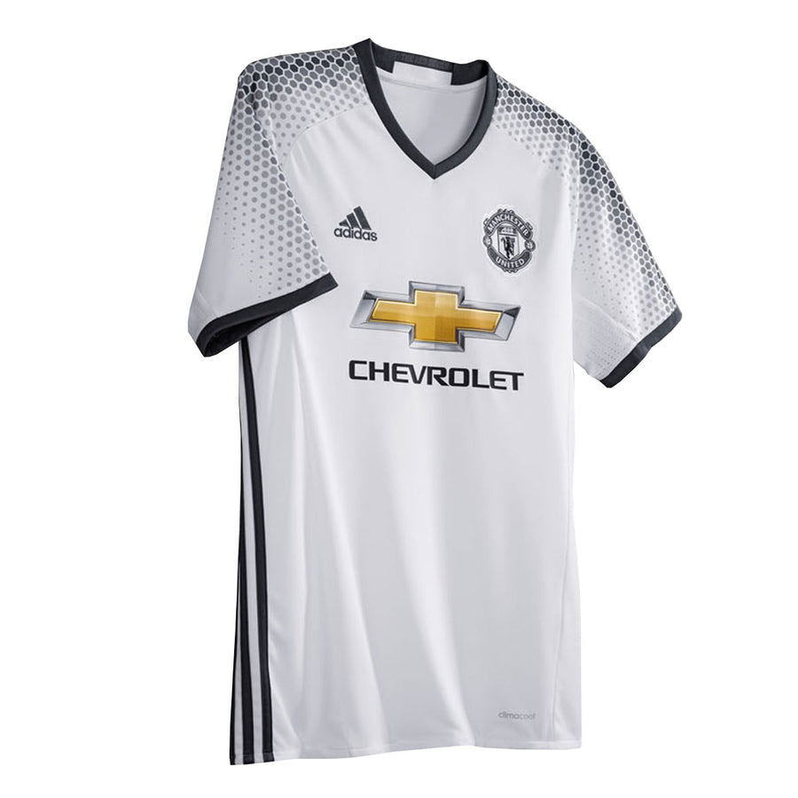 Manchester United White 3RD Jersey 16-17