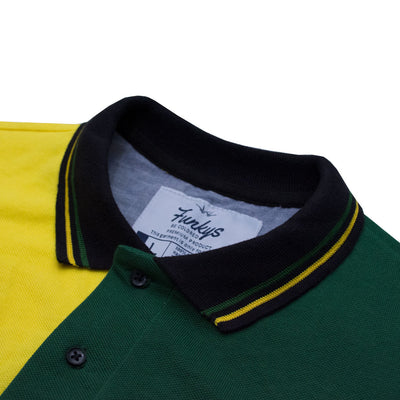 Funkys ITALY Contrast Color Polo Shirt