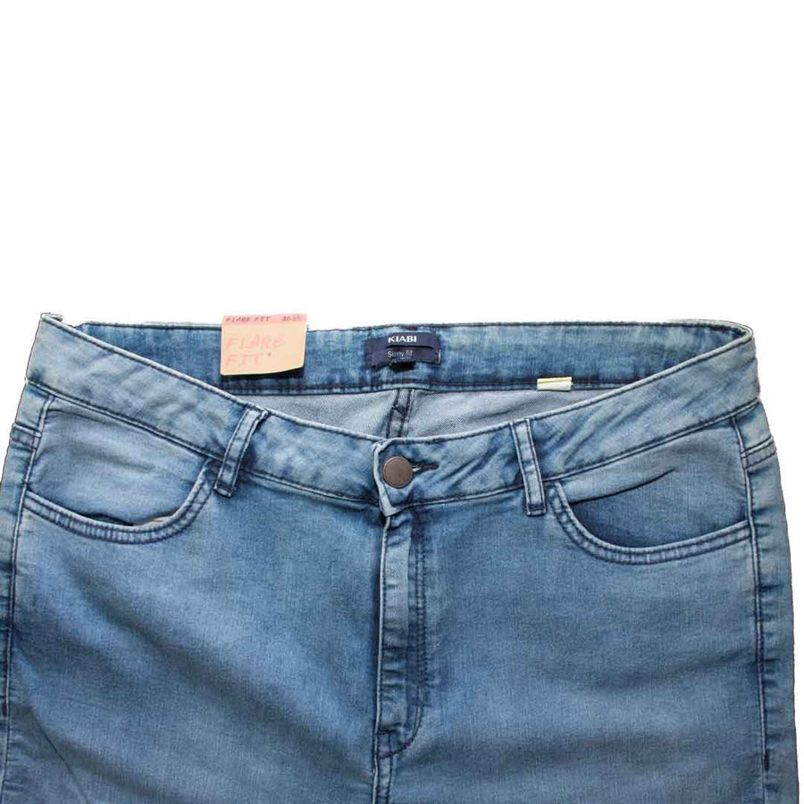 Kiabi Ladies Flare Super Skinny Fit Denim