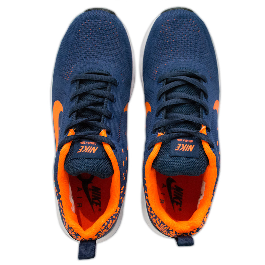 Air Max Orange Splash Shoes - Deeds.pk