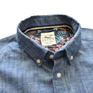 Esprit Long Sleeves Double Pocket Casual Shirt - Deeds.pk