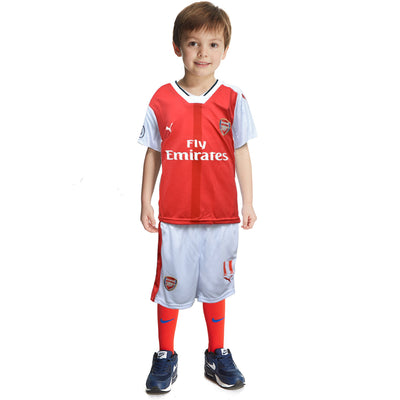 Kids Ozil Arsenal Home Kit 2016/2017 - Deeds.pk