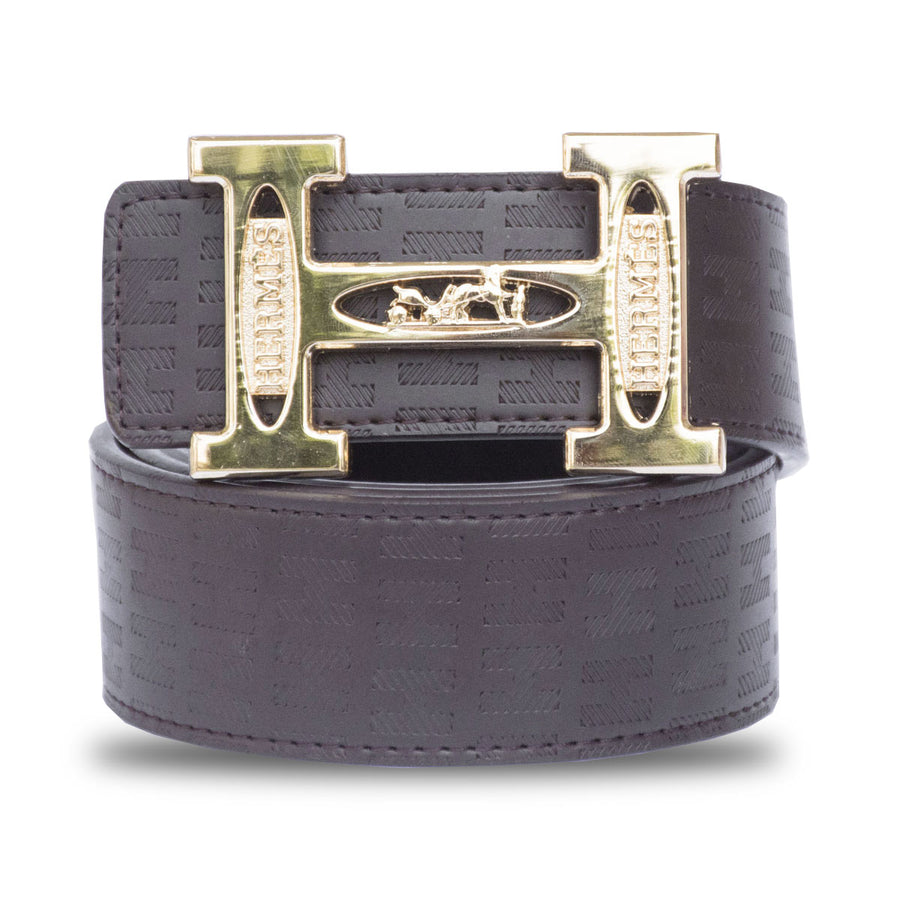 Men's Hermes Brown BELT - Deeds.pk
