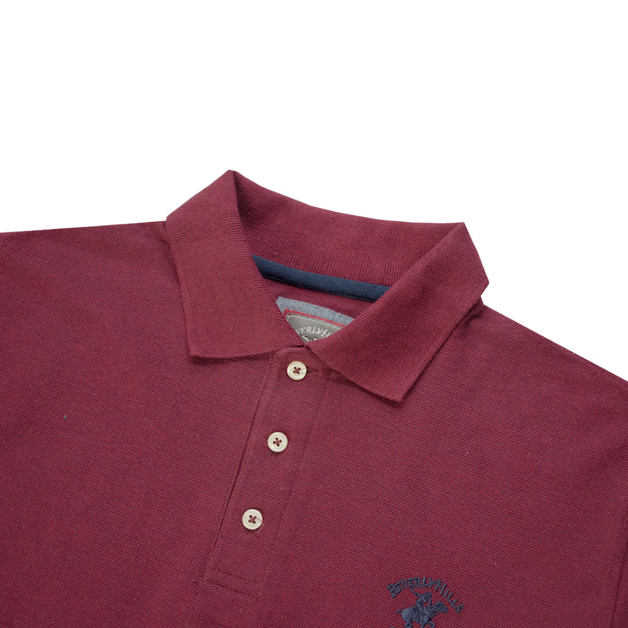 Beverly Hills Polo Club Modern Fit Pique Polo Shirt - Deeds.pk
