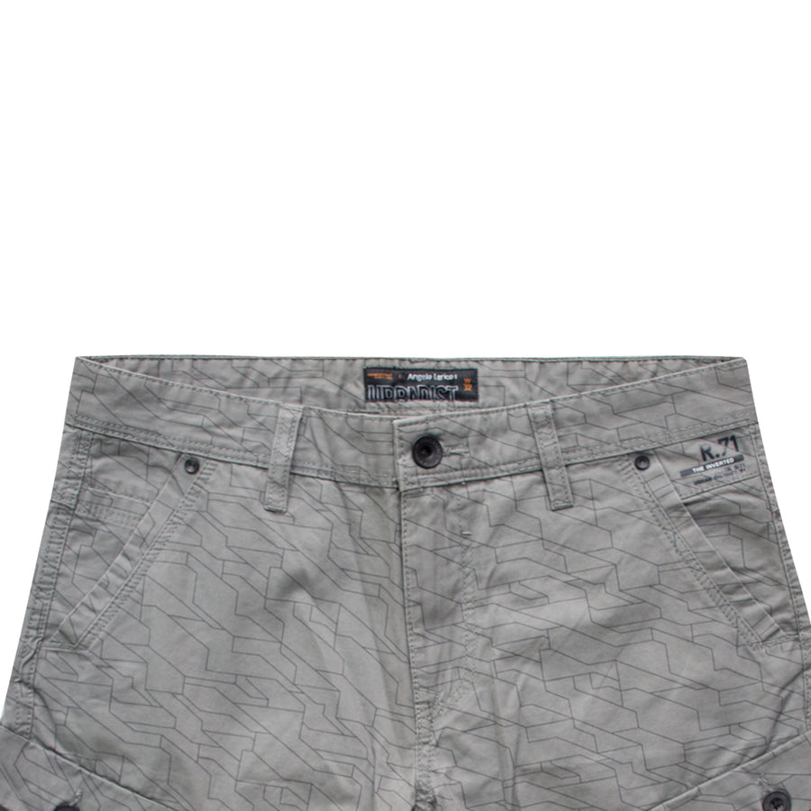 AL All Over Pattern 6 Pocket Shorts - Deeds.pk