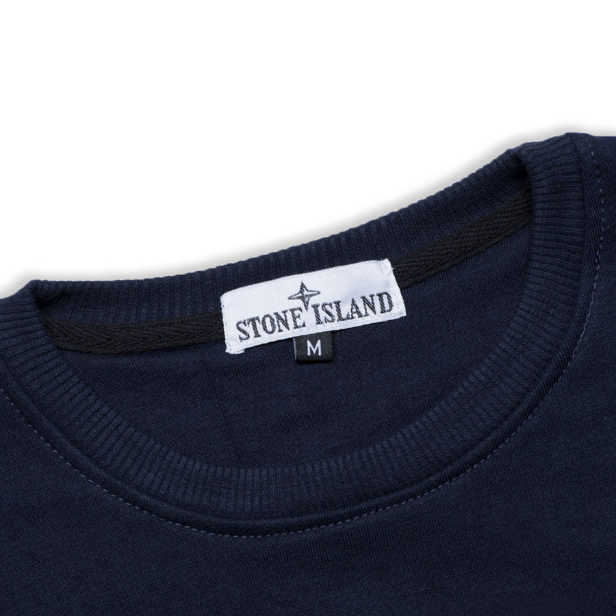 SI EMBOSSED LOGO PLAIN NAVY SWEATSHIRT