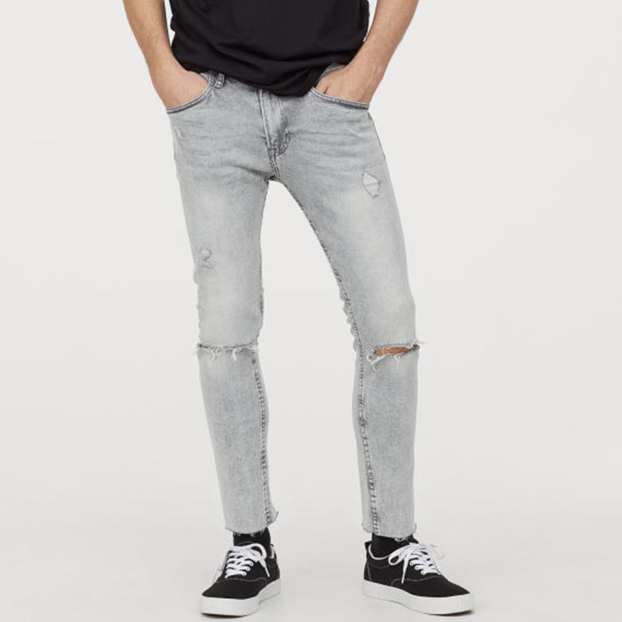H&M Cropped Super Skinny Denim Pant