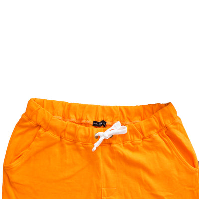 Women Bershka Orange Jogger Pants - Deeds.pk