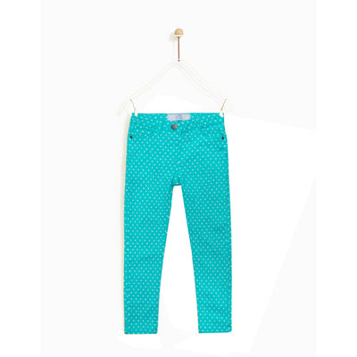 Love Denim Turquoise Dot Girl's Denim ( 1 YEARS TO 7 YEARS )