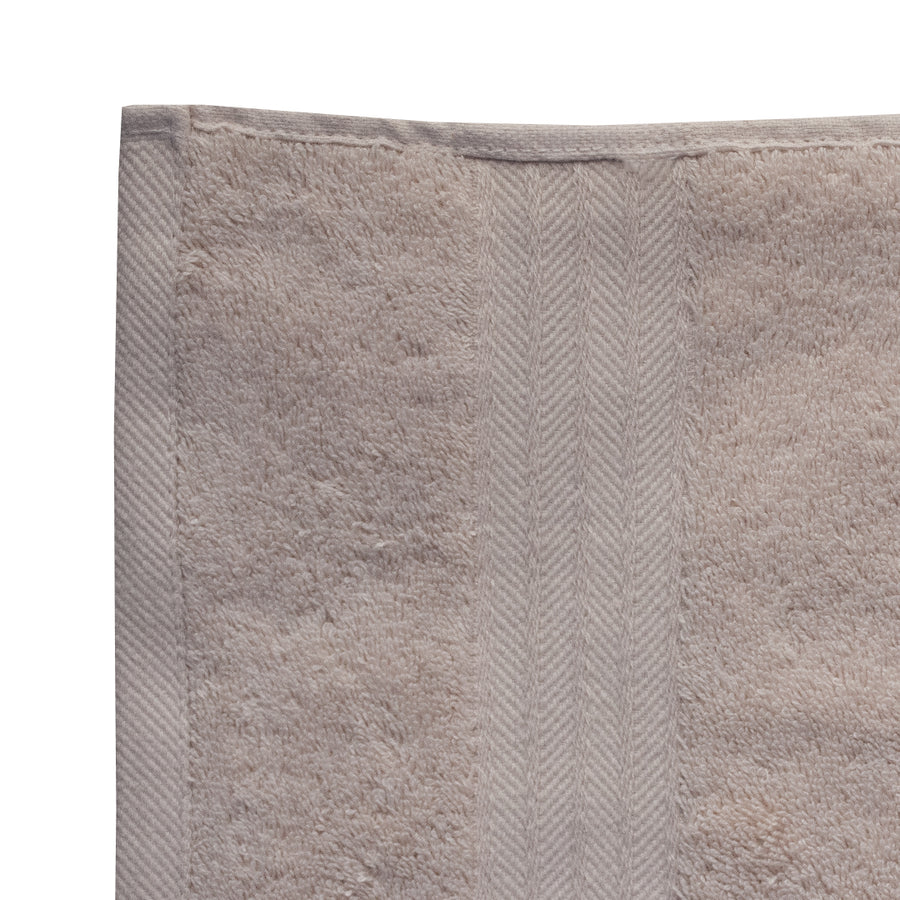 28 X 29 inches Cream Bath Towel - Deeds.pk