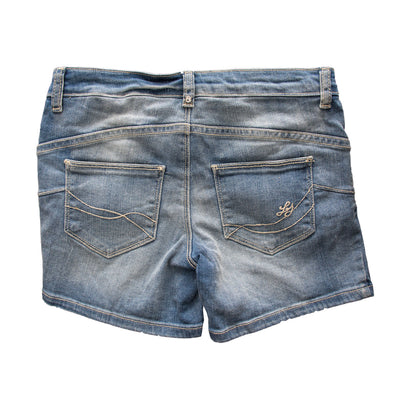 Liujo Stone Blue Shorts - Deeds.pk