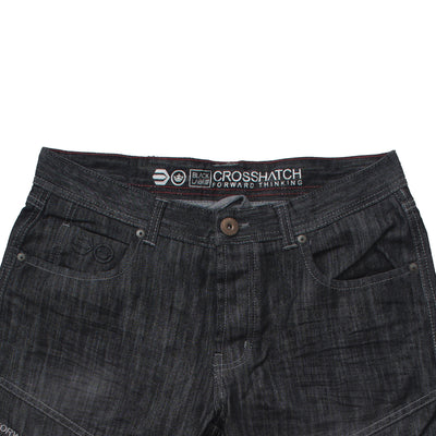 Charcoal Denim Shorts - Deeds.pk