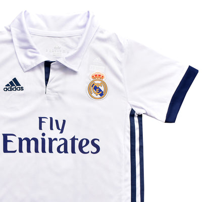 Kids Ronaldo Real Madrid Home Kit 2016/2017 - Deeds.pk