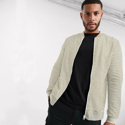 Funky's Rock On Quilted Bomber