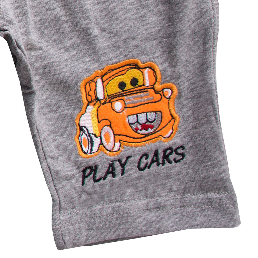 Kid's Topolino Play Cars Grey Pant - Deeds.pk