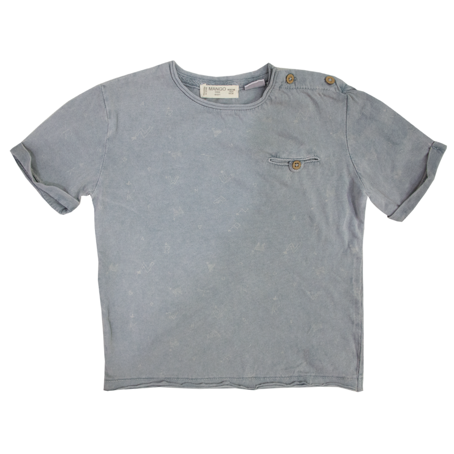 MGO Grey Baby T-Shirt ( 9 MONTHS TO 3 YEARS )