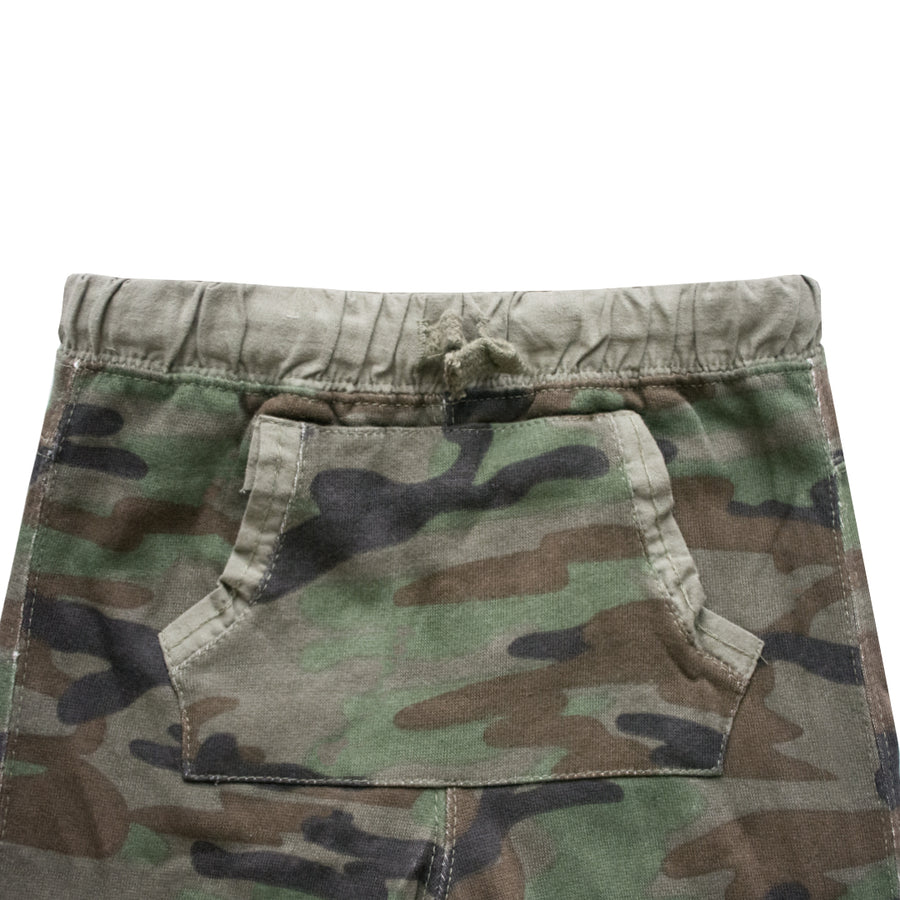 ZR Baby Boy Kangaroo Pocket Camo Trousers ( 3 MONTHS TO 24 MONTHS )