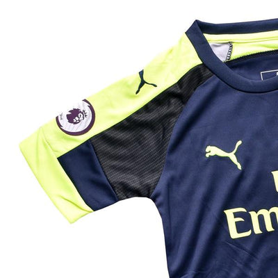 Kids Arsenal Ozil Third Kit 2016/2017 - Deeds.pk