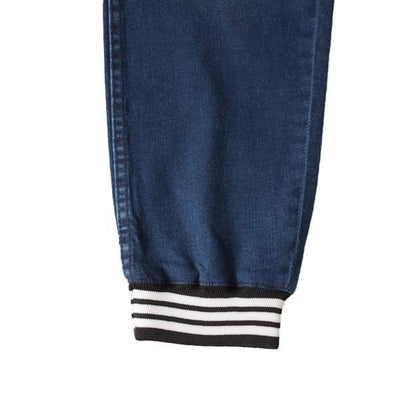 Reserved Oxford Blue Denim Jogger Pants - Deeds.pk