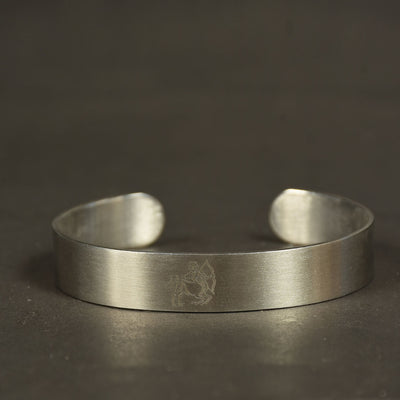 Minimalist Stainless Steel Cuff Bangle