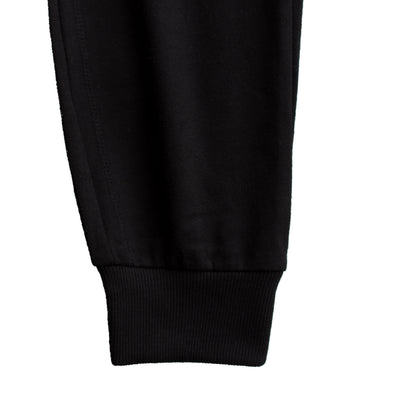 Women Jet Black Jogger Pants - Deeds.pk