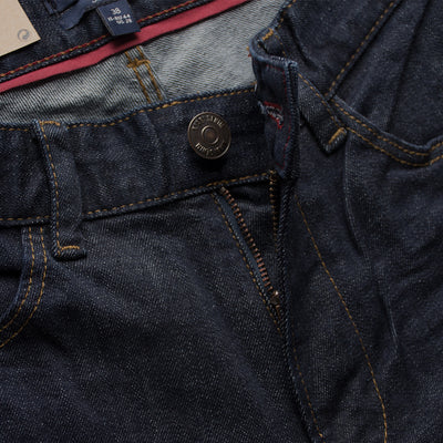 Dark Blue Comfort Stretch Slim Fit Denim
