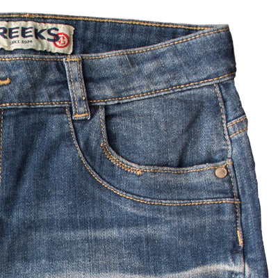 Creeks Denim Shorts - Deeds.pk