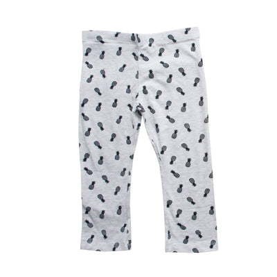 Young Dimension Pineapple Print Capri - Deeds.pk